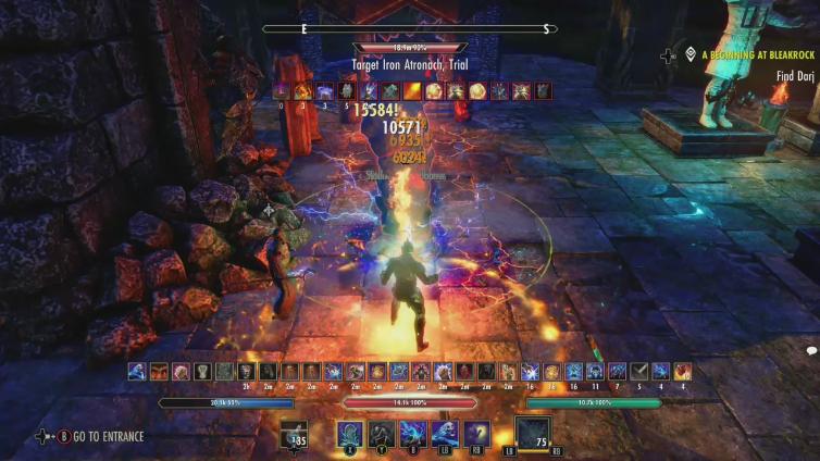 EZchairBIGMIKE playing The Elder Scrolls Online: Tamriel Unlimited
