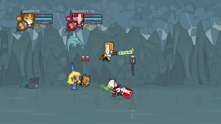 jhw549 playing Castle Crashers Remastered